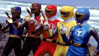 Power Rangers Ninja Storm Fan Intro 1