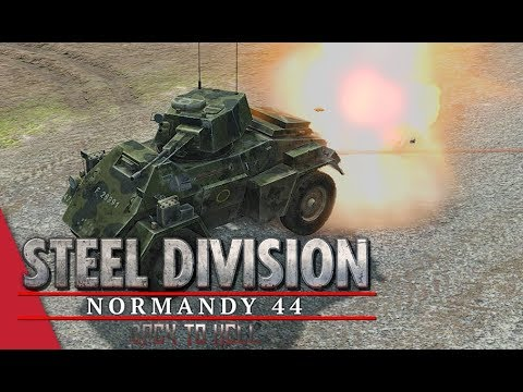 2nd APT Semi Final! Steel Division: Normandy 44 - Winters vs YueJin (Cheux, 1v1)