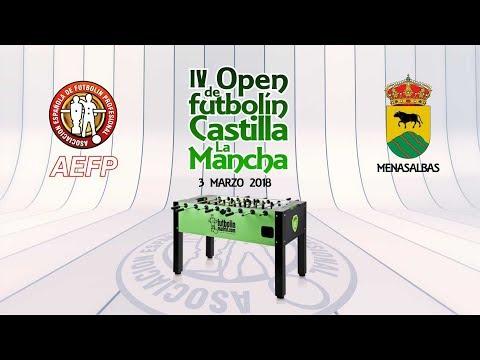IV Open de futbolín AEFP Castilla La Mancha, Final amateur dobles