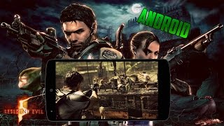 RESIDENT EVIL 5 PARA ANDROID FUE CONFIRMADO! (2016)