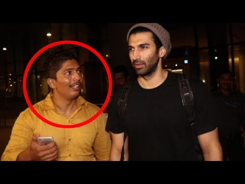 A  Harasses Aditya Roy Kapoor For Selfie  Here's What He Did Next