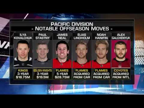 NHL Tonight:  Pacific picks:  Mike Johnson makes his Pacific Division picks  Aug 17,  2018