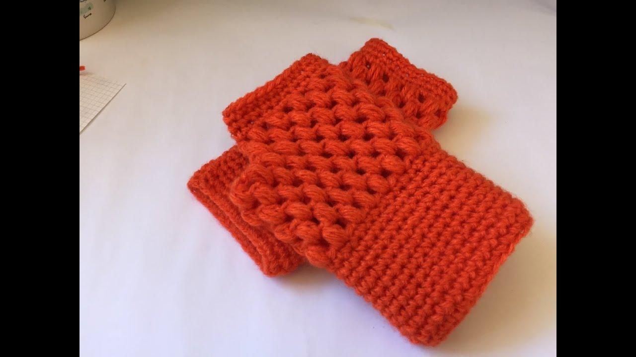 Tuto Mitaines Pop Corn Au Crochet