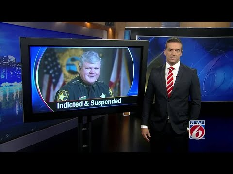Sheriff Chris Blair indicted on perjury charges