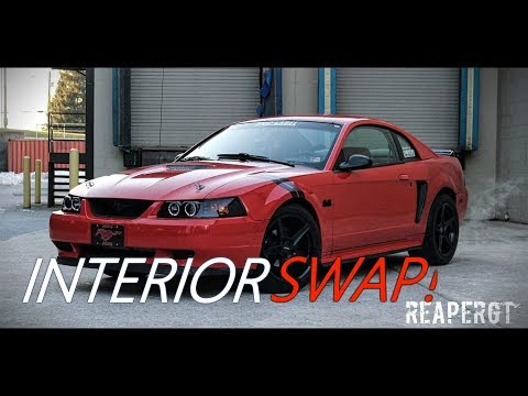 INTERIOR SWAP! (99 04 Mustang)