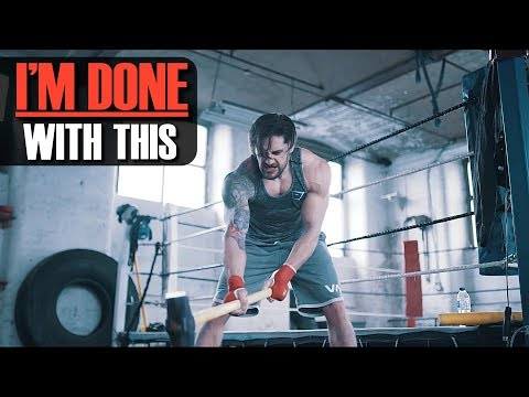 THIS MAKES ME ANGRY & I NEED TO TALK ABOUT IT | Heavy Bag Muscle Building Workout
