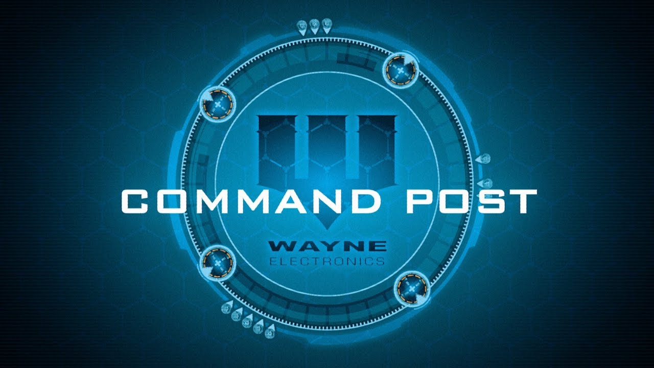 aae523001 Batman Gotham City Chronicles: Part 8 - Command Post. Board Game Coffee