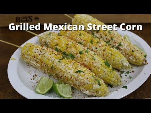 Grilled Corn On The Cob   Mexican Street Corn with Malcom Reed HowToBBQRight