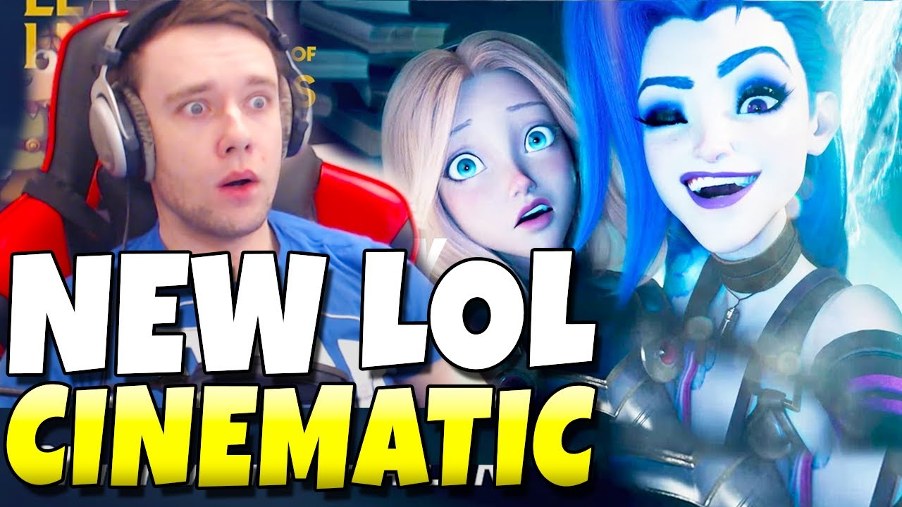 JINX KIDNAPS EVERYONE!! Reaction To New Cinematic (Wild Rift)
