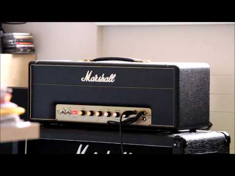 Marshall JTM45 cranked/full volume and Gibson SG Angus Young