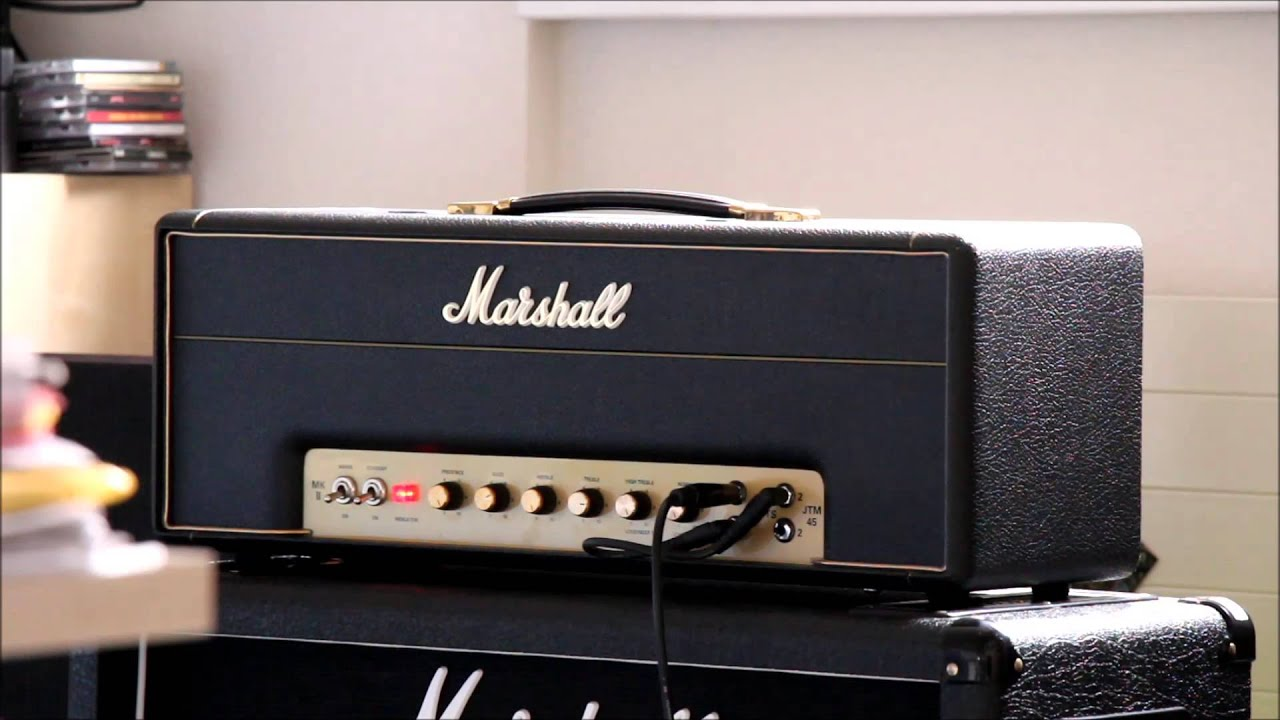 Marshall Jtm45 Cranked Full Volume And Gibson Sg Angus Young 1967 Wiring Harness