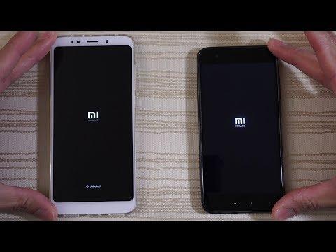 Xiaomi Redmi 5 Plus vs Xiaomi Mi6 - MIUI 9 Speed Test!