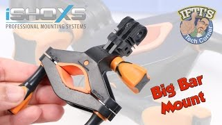 iSHOXS Big Bar Mount -  GoPro Rollbar / Pole Mount! REVIEW