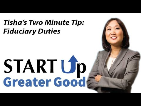 2-Minute Video Tip: Fiduciary  Duties