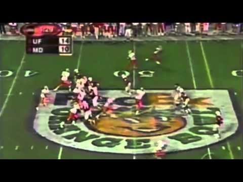 2002 BCS Orange Bowl: #5 Florida Gators vs. #6 Maryland Terrapins