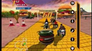 Burger King Pocket Bike Racer Battle Royale mode
