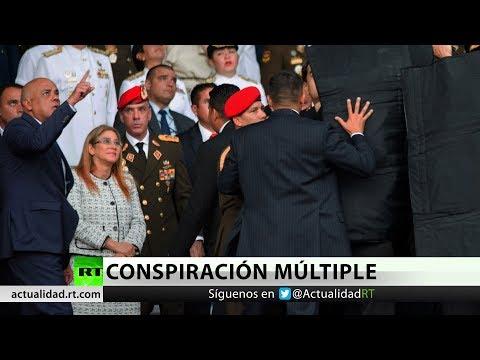 Venezuela implica a Colombia, México y Chile en el atentado contra Maduro