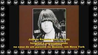 1983 - Johnny Ramone e sua fratura no crânio e  conversa com Joey Ramone (Legendado em Português)