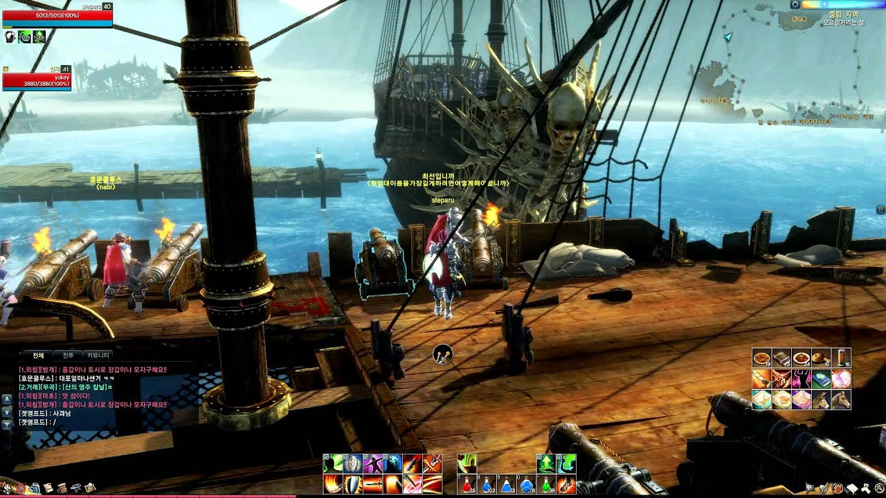 Видео ArcheAge Online Closed Beta Pirate Island The Pirate Boss Fires Back