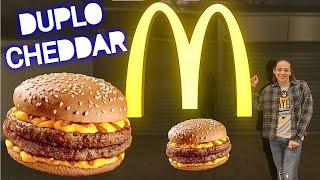Baixar Experimentando: Novo lanche Cheddar Mc Melt Duplo do Mcdonald's   Colornicornio