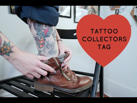 I made a thing! Tattoo Collectors Tag!📝😍