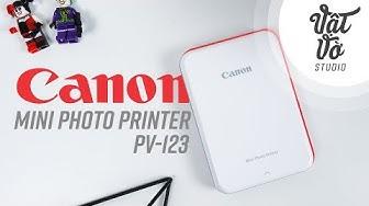 Máy in ảnh Canon Mini Photo Printer PV-123
