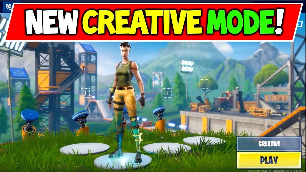 New Fortnite Creative Mode Explained Gameplay Season 7 Hype