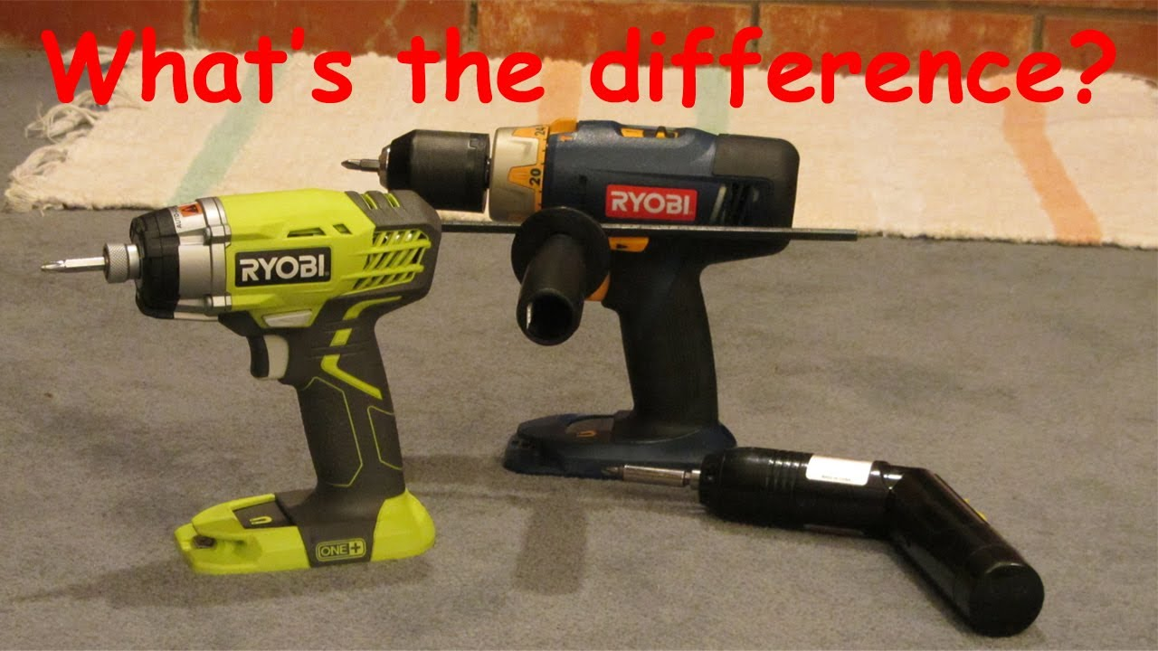 Differences Between Impact Wrench And Driver