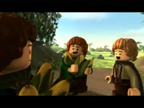 Lego Władca Pierścieni Odc1 Początek Opowieści Film Youtube