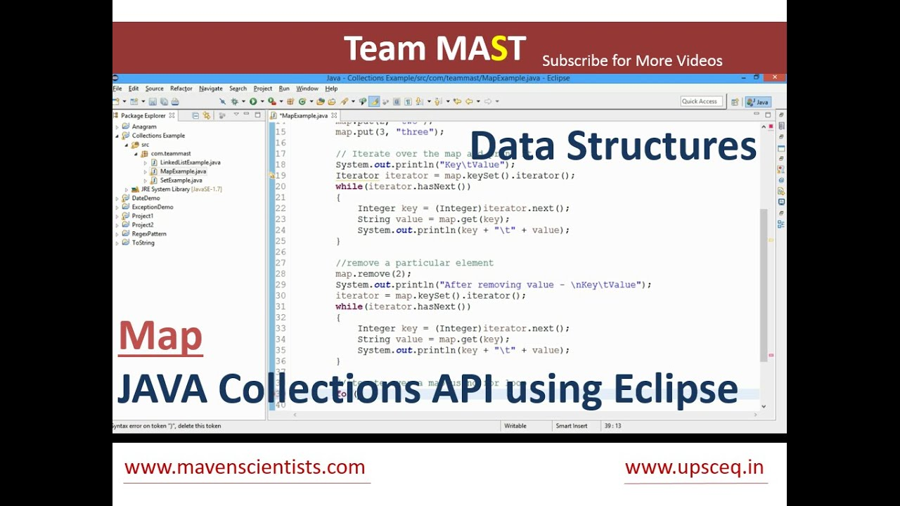 map example in java  team mast  youtube - map example in java  team mast