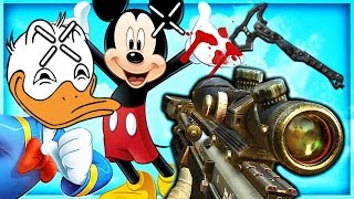 Donald and Mickey TROLLING on Black Ops 2! (Call of Duty)