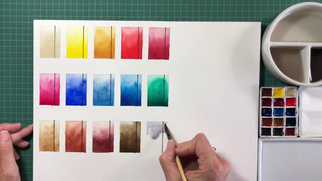 The Ultimate Mixing Palette: a World of Colours - Jane
