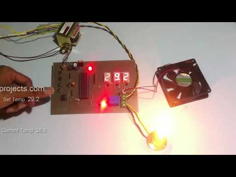 Accurate Room Temperature Controller Project