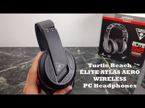 Turtle Beach Elite Atlas Aero Wireless PC Gaming Headset Review