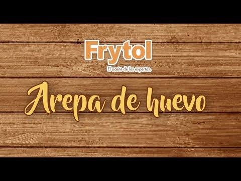 Receta Arepa de Huevo - Frytol