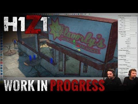 Work in Progress - Level Design w/ Adam Clegg [H1Z1 Official Stream]