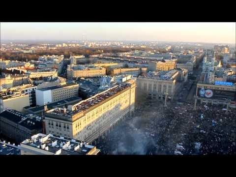 Zamieszki W Warszawie - Widok Z Robokoptera [11.11.2011]