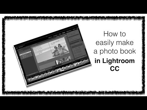 How to easily create a photo book in Lightroom