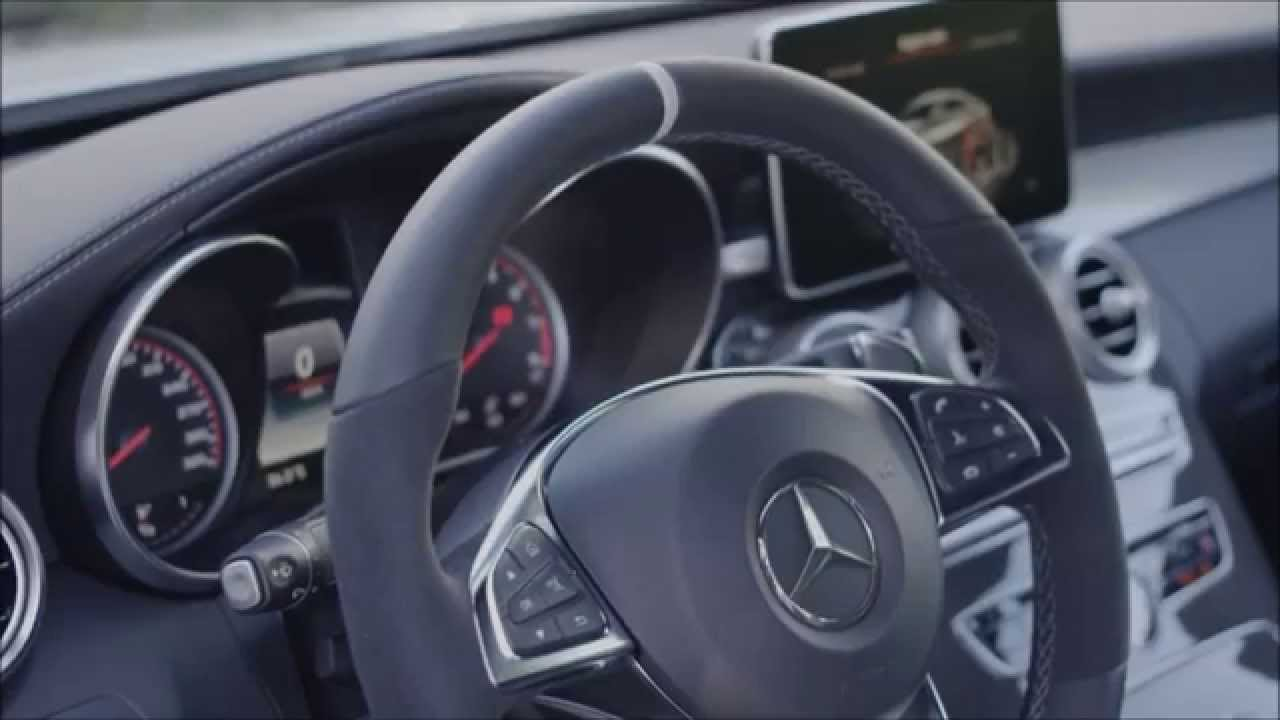 2017 Mercedes Amg C63 S Coupe Interior Trailer Youtube
