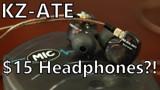 KZ-ATE Review: How Do $15 Headphones Sound THIS Good?
