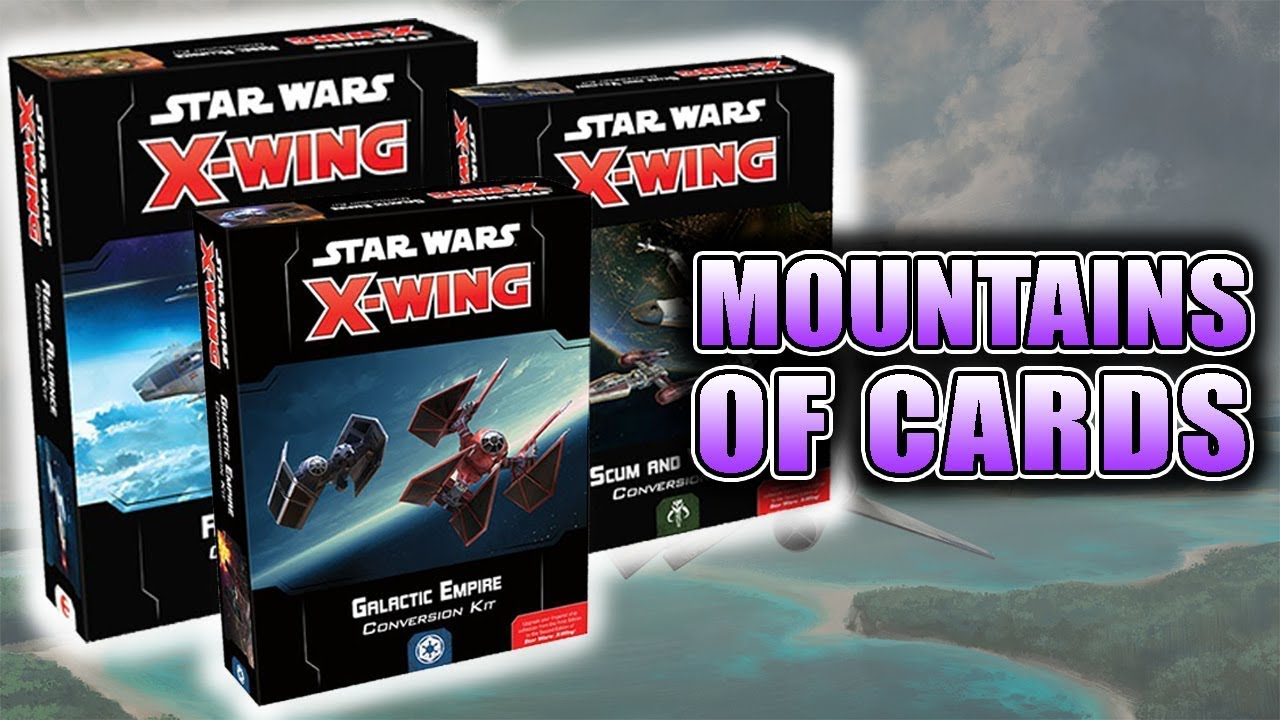 Star Wars X Wing (2nd Edition): Galactic Empire Conversion