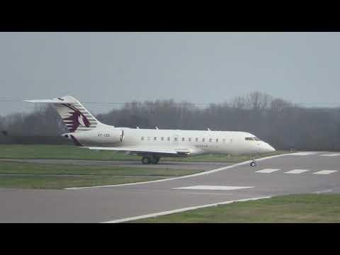 Qatar Executive Bombardier Global 5000 A7-CEE - Take 3