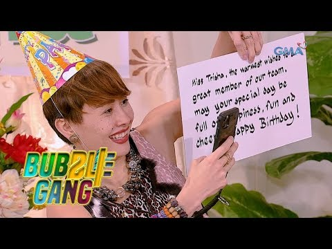 Bubble Gang: Surprise happy birthday, self! from YouTube · Duration:  4 minutes 43 seconds