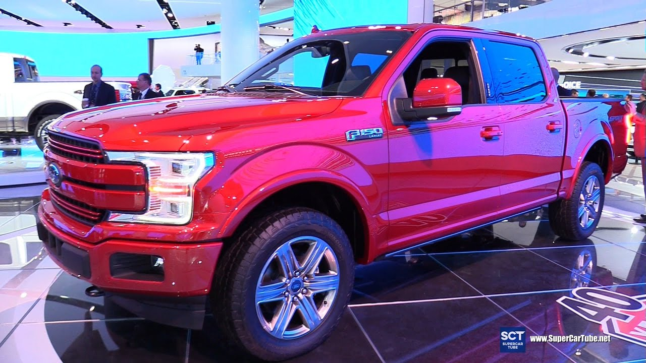 2018 Ford F-150 Sport 4X4 - Exterior and Interior Walkaround - Debut at 2017 Detroit Auto Show ...