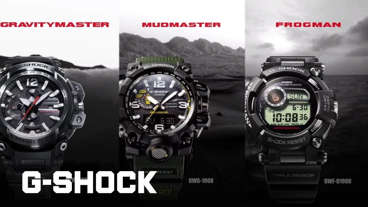 2fa704d715 CASIO G-SHOCK Master of G 2017