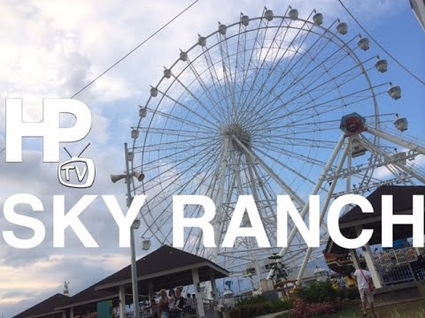 Sky Ranch Tagaytay Amusement Park Tour Zipline Sky Eye Overview by HourPhilippines.com