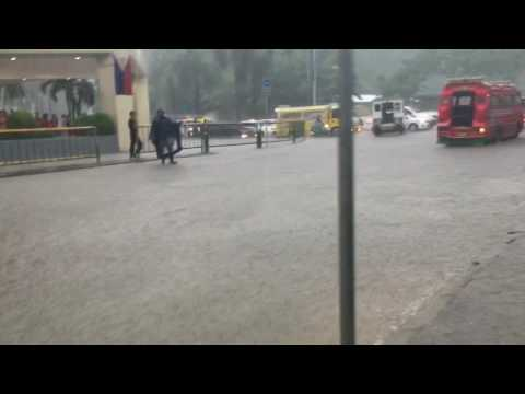 Heavy rain in Cebu
