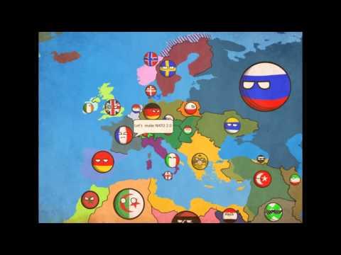 Alternative future of europe in countryballs #8 NATO and CSTO