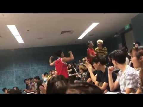 TEMASEK POLY FIGHT (FULL VIDEO) 18 APRIL