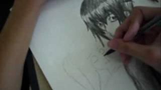 How I draw Anime